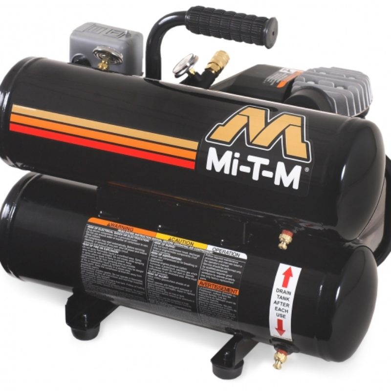 5 Gallon Portable (Electric) Air Compressor Rental - Mi-T-M - AC1-HE02-05M1