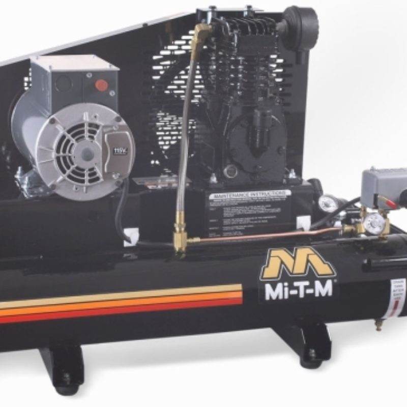 8 Gallon Portable (Electric) Air Compressor Rental - Mi-T-M - AM1-PE02-08M