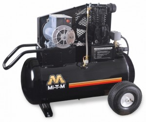 20 Gallon Portable (Electric) Air Compressors - Mi-T-M - AM1-PE02-20M
