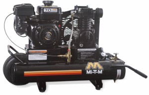 8 Gallon Portable (Gas) Air Compressors - Mi-T-M - AM1-PK07-08M