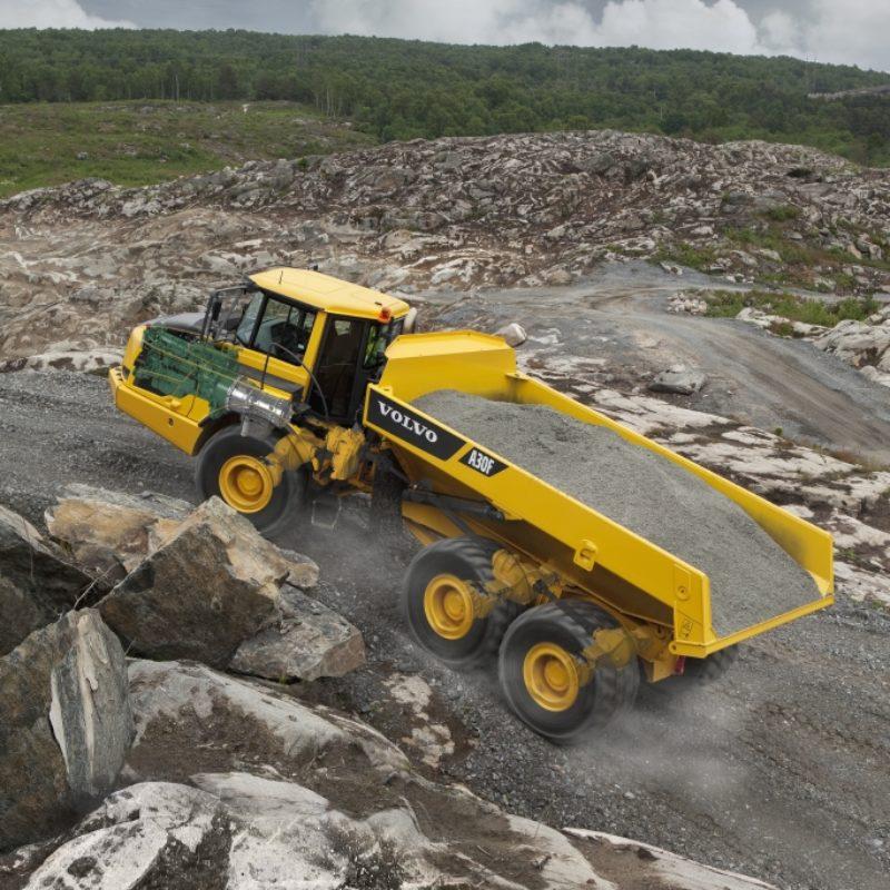31 Ton Articulated Hauler Rental - Volvo - A30F