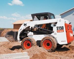 Skid Steer Loader Rental - Bobcat S150