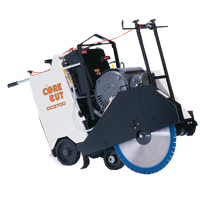 Walk behind saw rental core cut cc3700 equipment for Electric motor repair rochester ny