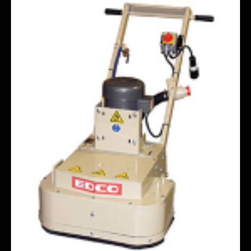 3 Hp Dual Disc Floor Grinder Rental - Edco - 2EC-3B