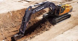 Excavator Rental - Full-Size - Volvo EC330