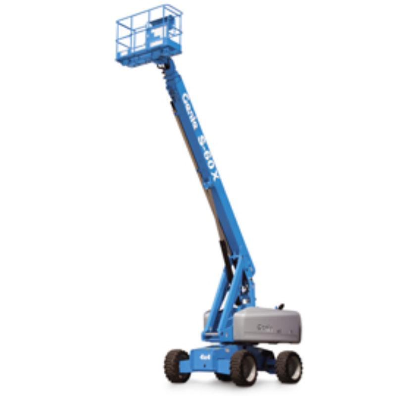 66 Foot Straight Mast Boom Rental - Genie S-60