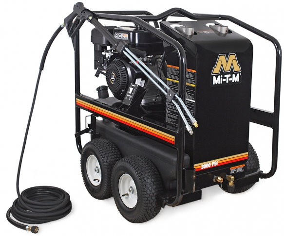 3,000 PSI Hot Water (Gas) Pressure Washer - HSP-3003-3MGR