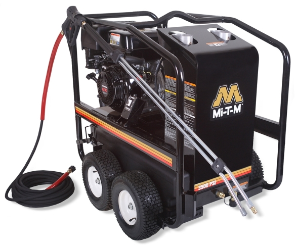 3,500 PSI Hot Water (Gas) Pressure Washer - HSP-3504-3MGH
