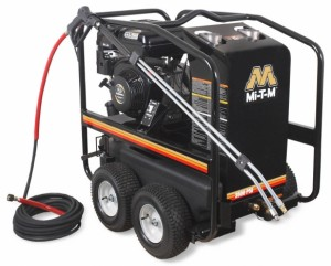 3,500 PSI Hot Water (Gas) Pressure Washer - HSP-3504-3MGR