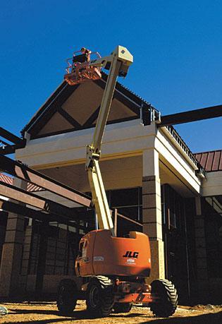 45' Articulating Boom Lifts - JLG 450A