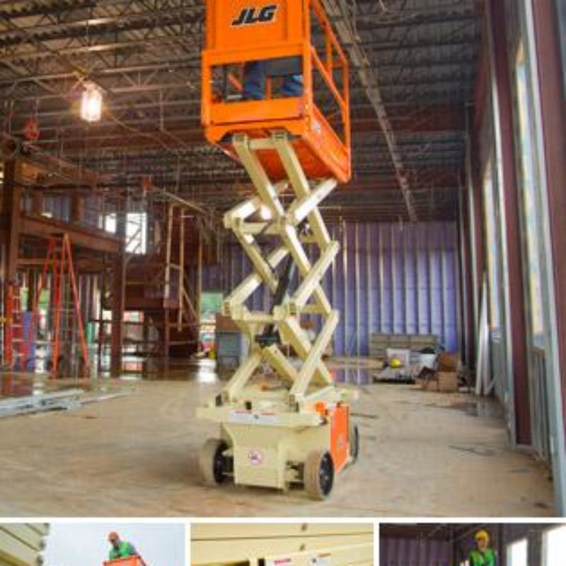 19 Foot Electric Scissor Lift Rental - JLG 1932RS