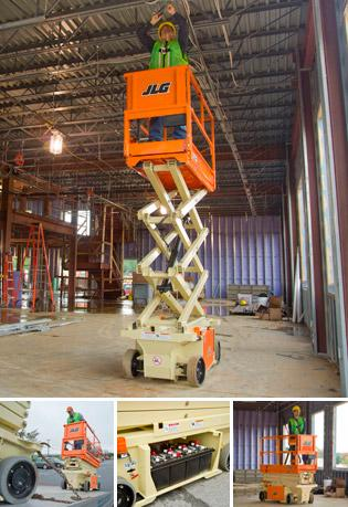 19' Scissor Lifts - JLG 1932RS