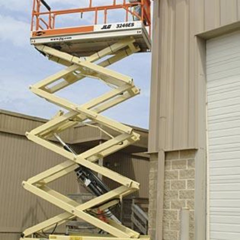 26 Foot Electric Scissor Lift Rental - JLG 2646ES