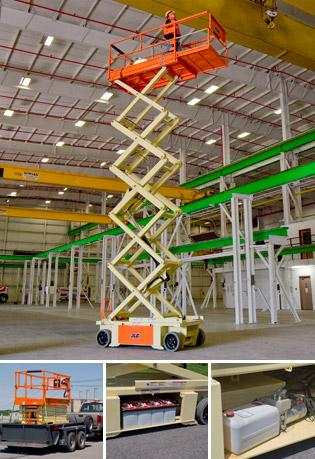 32' Electric Scissor Lifts - JLG 3248RS