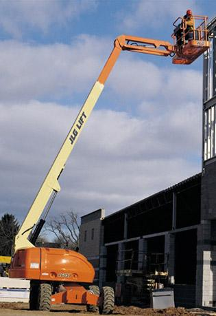 Straight Mast Boom Lifts - JLG 460SJ