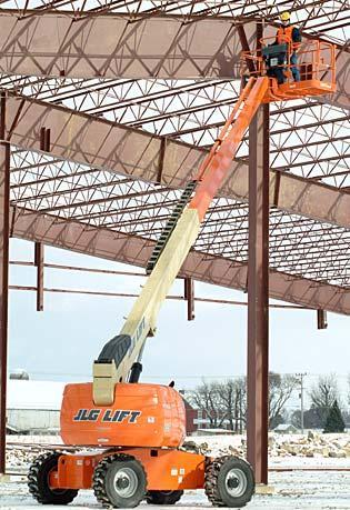 Straight Mast Boom Lifts - JLG 600S