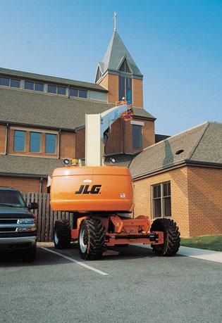 80' Straight Mast Boom Lifts - JLG 800S