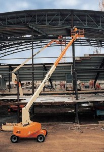 86' Straight Mast Boom Lifts - JLG 860SJ