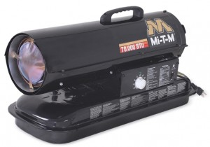 70,000 BTU Forced Air (Kerosene) Heater - Mi-T-M - MH-0070-0M10