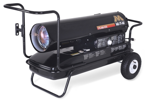 175,000 BTU Forced Air (Kerosene) Heater - Mi-T-M - MH-0175-0M10