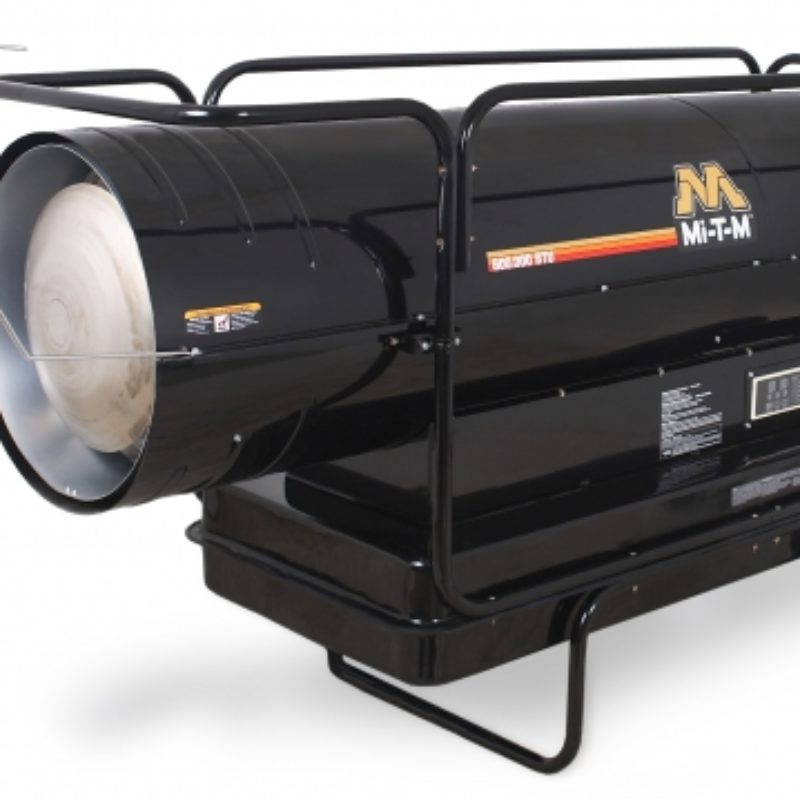 600,000 BTU Forced Air Heater Rental (Kerosene) - Mi-T-M - MH-0600-0M10
