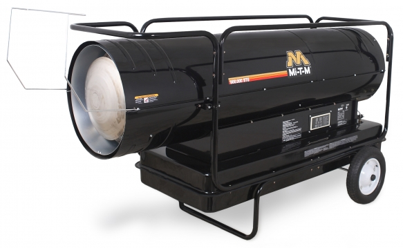 600,000 BTU Forced Air (Kerosene) Heater - Mi-T-M - MH-0600-0M10