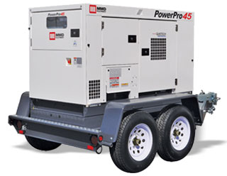 45kVA Towable Generator - MMD PowerPro 45