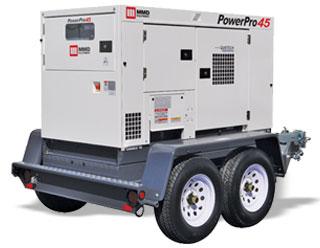 125kVA Towable Generator - MMD PowerPro 125