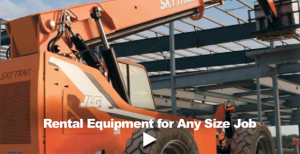 Rental Equipment Any Size Job - Reach Forklift Final