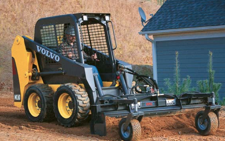 Skid Steer Loader Rental - Volvo MC60