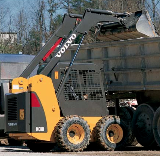 Skid Steer Loader Rental - Volvo MC80