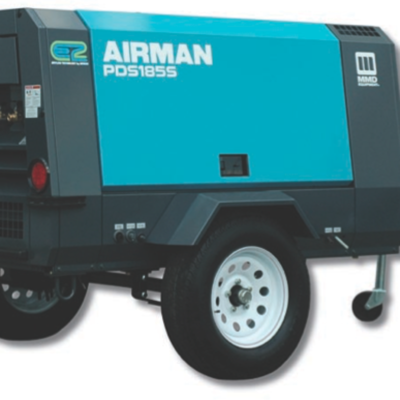 185 CFM Air Compressor Rental - MMD PDS185S