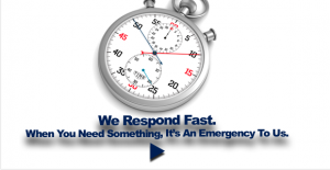 We Respond Fast
