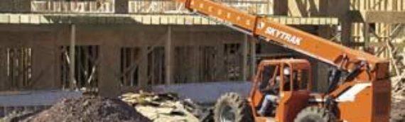 Construction Equipment Rental — Forklift — SkyTrak