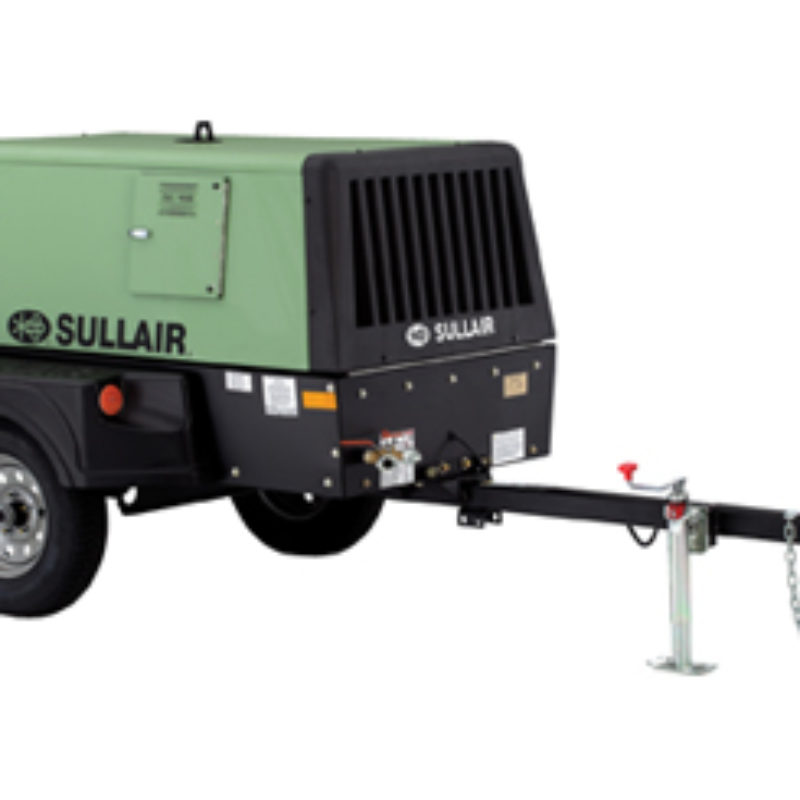 185 CFM Air Compressor Rental - Sullair 185 CFM