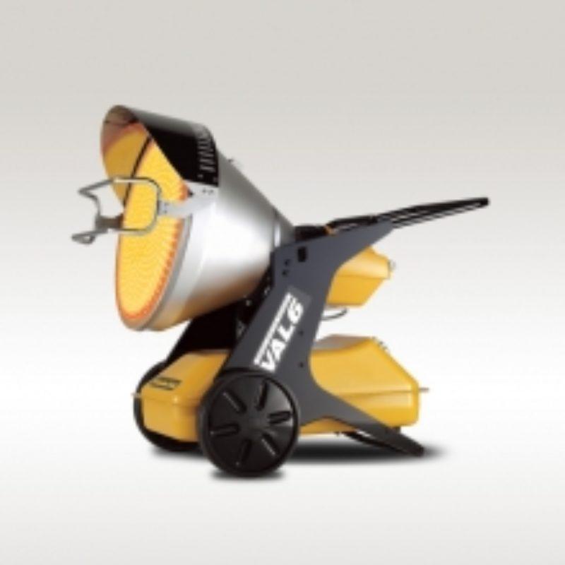 140,000 BTU Infrared Heater Rental - Val6 EPX