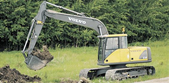 Excavator Rental - Full-Size - Volvo EC160