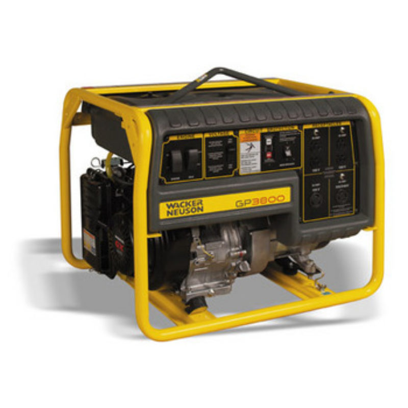3,800 Watt - Portable Generator Rental - Wacker-Neuson GP3800A
