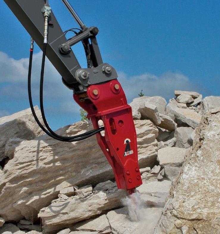 Breaker Attachment - Allied Construction - AR165
