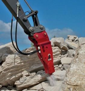 Breaker Attachment - Allied Construction - AR180c