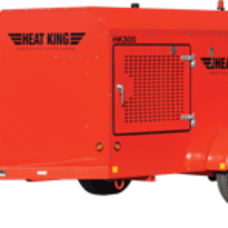 290,000 BTU Ground Thawing Heater Rental - HeatKing HK300