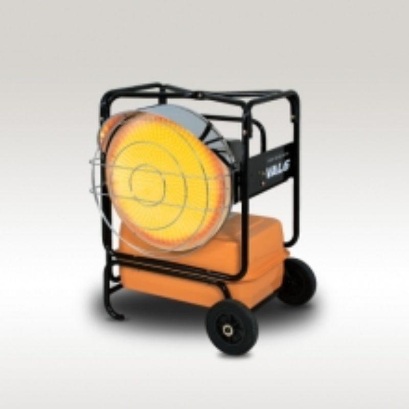 118,000 BTU Infrared Heater Rental - Val6 KBE5L (2-Step)