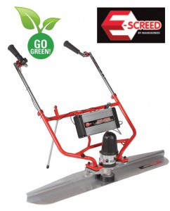 Concrete Power Screed - Electric - Allen Concrete Equipment HED1010
