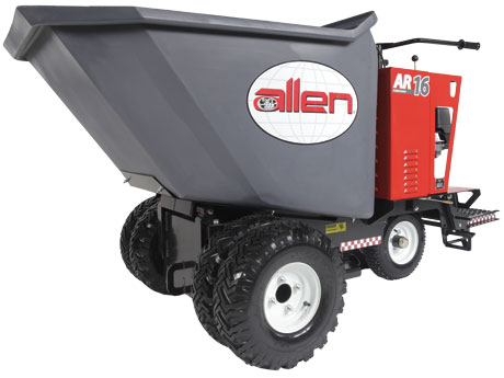 16 Cubic Feet Power Buggies - Allen Concrete Equipment AR16