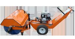 Walk-Behind Floor Sweeper - Laymor - Sweepmaster 200