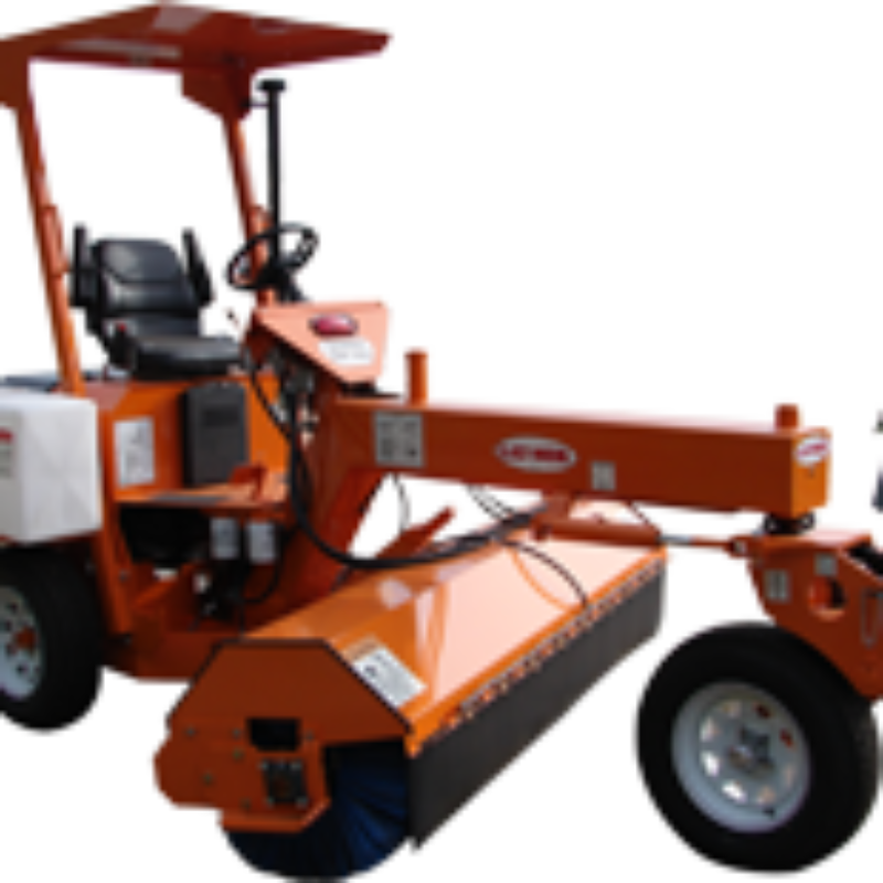 Stand Ride On Leaf Blower Rental: Sweeper Rental - Ride-On And Walk Behind