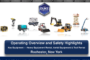 Rochester NY - Top 9 Construction Equipment Rental Items - Operating and Safety Highlights
