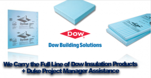 Buy Bulk Dow Insulation Products Duke Company