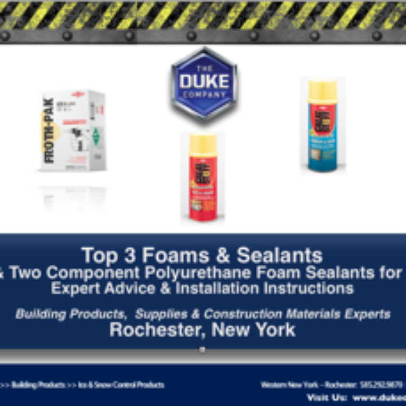 Top 3 DOW Foam and Sealant for Walls in Rochester NY