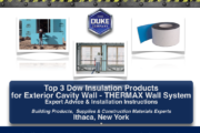 Top 3 Dow Insulation Products for Exterior Cavity Walls